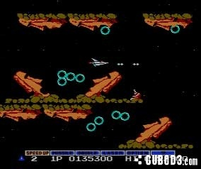 Screenshot for Gradius on NES- on Nintendo Wii U, 3DS games review