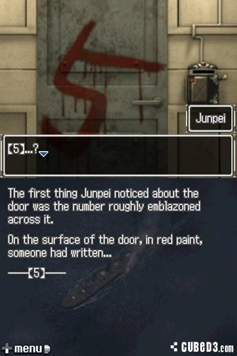 Screenshot for 999: Nine Hours, Nine Persons, Nine Doors on Nintendo DS - on Nintendo Wii U, 3DS games review