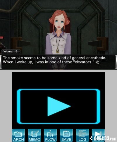 Screenshot for Zero Escape: Virtue's Last Reward on Nintendo 3DS