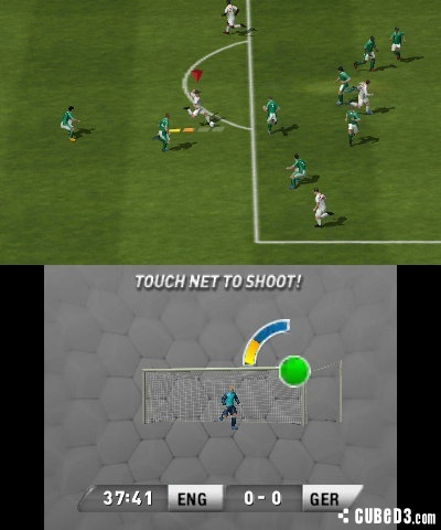 Screenshot for FIFA 13 on Nintendo 3DS - on Nintendo Wii U, 3DS games review