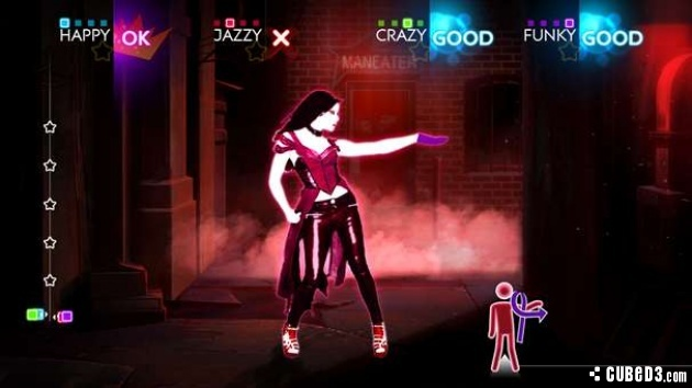 Screenshot for Just Dance 4 on Wii - on Nintendo Wii U, 3DS games review