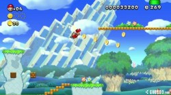 Screenshot for New Super Mario Bros. U (Hands-On) - click to enlarge