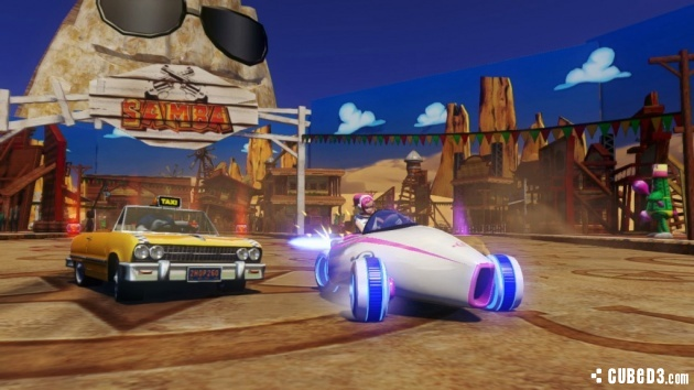 Screenshot for Sonic & All-Stars Racing Transformed on Wii U - on Nintendo Wii U, 3DS games review