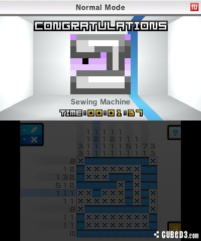 Screenshot for Picross e on 3DS eShop - on Nintendo Wii U, 3DS games review