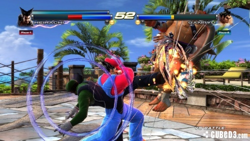 Screenshot for Tekken Tag Tournament 2: Wii U Edition on Wii U - on Nintendo Wii U, 3DS games review