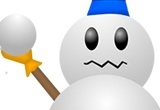 A reccuring snowman in the Mario series goes by the name...