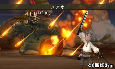 Screenshot for Bravely Default on Nintendo 3DS- on Nintendo Wii U, 3DS games review