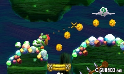 Screenshot for Yoshi's New Island (Hands-On) on Nintendo 3DS