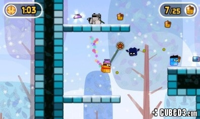 Screenshot for Super Little Acorns 3D Turbo on 3DS eShop - on Nintendo Wii U, 3DS games review