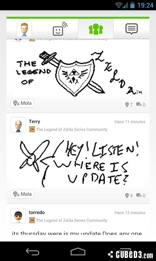 Image for Unofficial Wii U Miiverse Apps Tackle Android Store