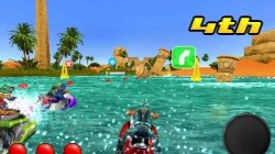 Screenshot for Aqua Moto Racing 3D - click to enlarge