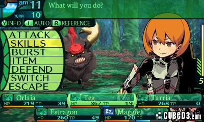 Screenshot for Etrian Odyssey IV: Legends of the Titan on Nintendo 3DS
