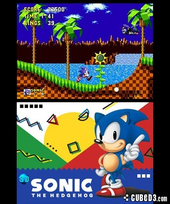 Screenshot for 3D Sonic the Hedgehog on 3DS eShop - on Nintendo Wii U, 3DS games review