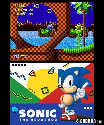 Screenshot for 3D Sonic the Hedgehog on 3DS eShop- on Nintendo Wii U, 3DS games review