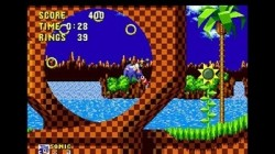 Screenshot for 3D Sonic the Hedgehog - click to enlarge