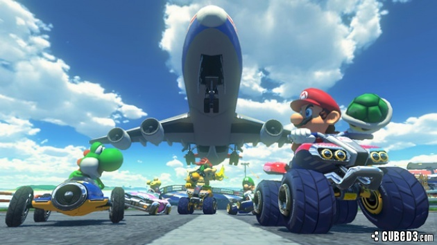 Image for Latest Mario Kart 8 Update Takes Players Above the Clouds