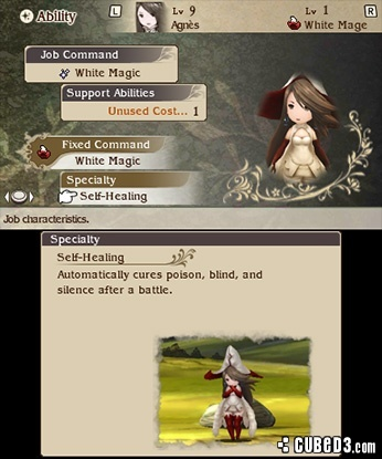 Screenshot for Bravely Default on Nintendo 3DS - on Nintendo Wii U, 3DS games review