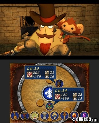 Screenshot for Doctor Lautrec and the Forgotten Knights on Nintendo 3DS - on Nintendo Wii U, 3DS games review