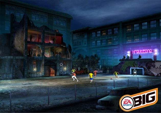 Screenshot for FIFA Street on GameCube