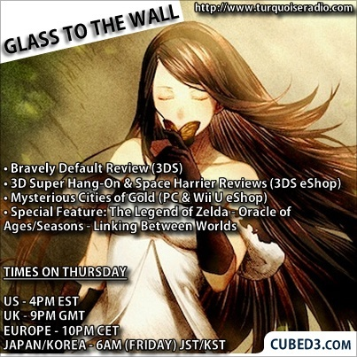 Image for Glass to the Wall Episode 38 - Bravely Default, Mysterious Cities of Gold, 3D SEGA Classics & More!