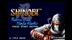 Screenshot for 3D Shinobi III: Return of the Ninja Master - click to enlarge