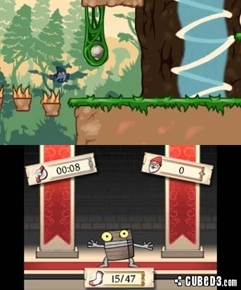 Screenshot for 2 Fast 4 Gnomz on 3DS eShop - on Nintendo Wii U, 3DS games review