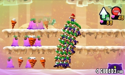 Screenshot for Mario & Luigi: Dream Team Bros. on Nintendo 3DS - on Nintendo Wii U, 3DS games review