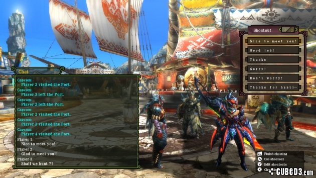 Screenshot for Monster Hunter 3 Ultimate on Wii U- on Nintendo Wii U, 3DS games review
