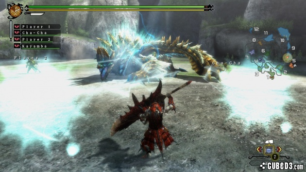 Screenshot for Monster Hunter 3 Ultimate on Wii U - on Nintendo Wii U, 3DS games review