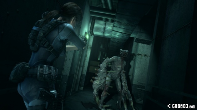 Screenshot for Resident Evil Revelations on Wii U- on Nintendo Wii U, 3DS games review