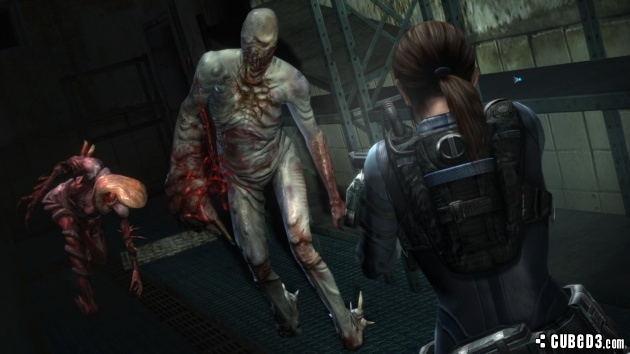 Screenshot for Resident Evil Revelations on Wii U - on Nintendo Wii U, 3DS games review