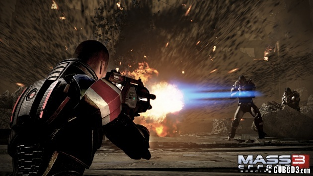 Screenshot for Mass Effect 3: Special Edition on Wii U- on Nintendo Wii U, 3DS games review