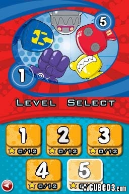 Screenshot for GoGo's Crazy Bones on Nintendo DS - on Nintendo Wii U, 3DS games review