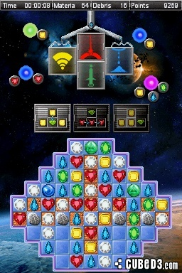 Screenshot for Jewel Link: Galactic Quest on Nintendo DS