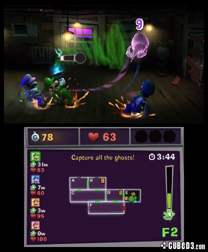 Screenshot for Luigi's Mansion 2 on Nintendo 3DS