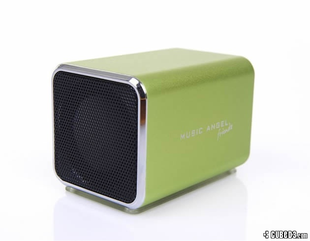 Image for Feature | Tech Up! – Music Angel Friendz External Speaker