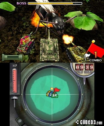 Screenshot for Bugs vs. Tanks! on 3DS eShop - on Nintendo Wii U, 3DS games review