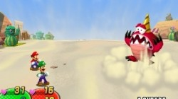 Screenshot for Mario and Luigi: Dream Team Bros. (Hands-On) - click to enlarge