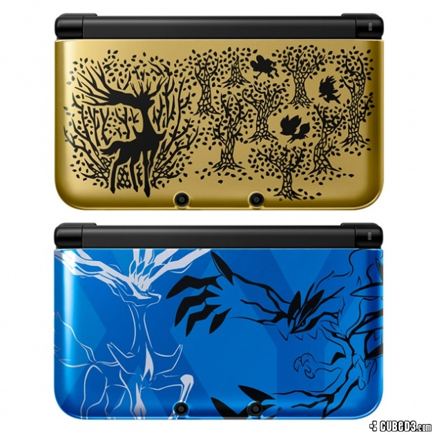 News: Two New Pokémon X and Y Themed 3DS XL Consoles Revealed Page 1 ...