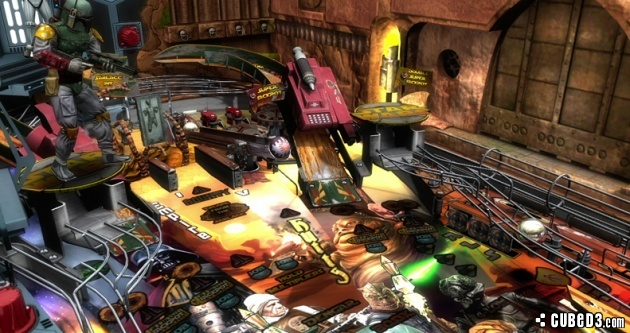 Screenshot for Star Wars Pinball on Wii U eShop - on Nintendo Wii U, 3DS games review