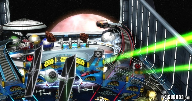 Screenshot for Star Wars Pinball on Wii U eShop- on Nintendo Wii U, 3DS games review