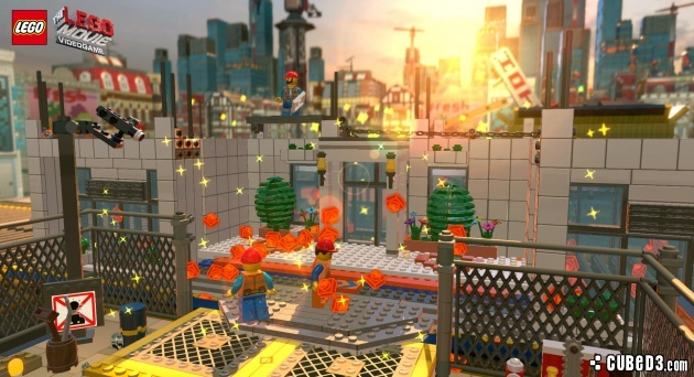 Screenshot for The LEGO Movie Videogame on Wii U