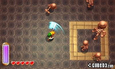 Screenshot for The Legend of Zelda: A Link Between Worlds (Hands-On) on Nintendo 3DS