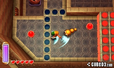 Screenshot for The Legend of Zelda: A Link Between Worlds on Nintendo 3DS