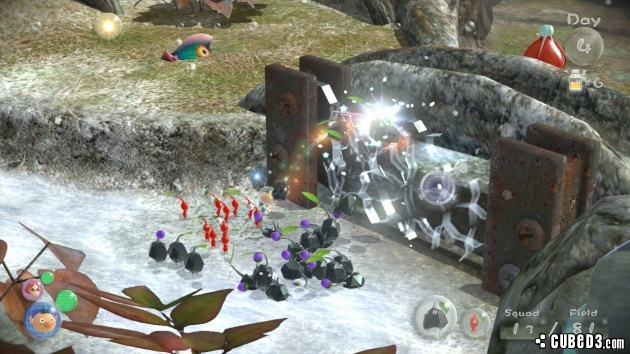 Screenshot for Pikmin 3 on Wii U - on Nintendo Wii U, 3DS games review