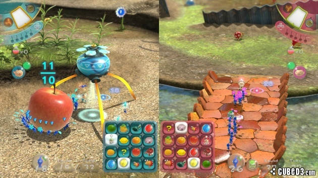 Screenshot for Pikmin 3 on Wii U- on Nintendo Wii U, 3DS games review
