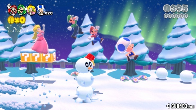 Screenshot for Super Mario 3D World on Wii U