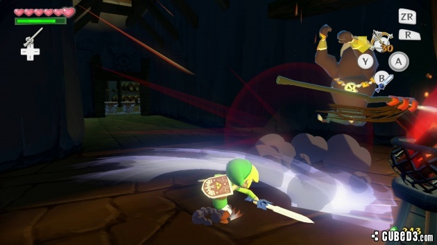 Screenshot for The Legend of Zelda: The Wind Waker HD on Wii U - on Nintendo Wii U, 3DS games review