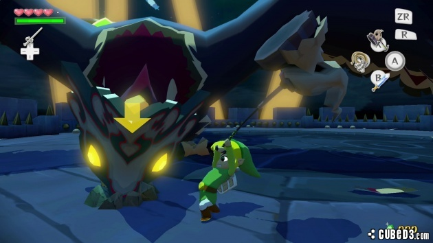 Screenshot for The Legend of Zelda: The Wind Waker HD on Wii U
