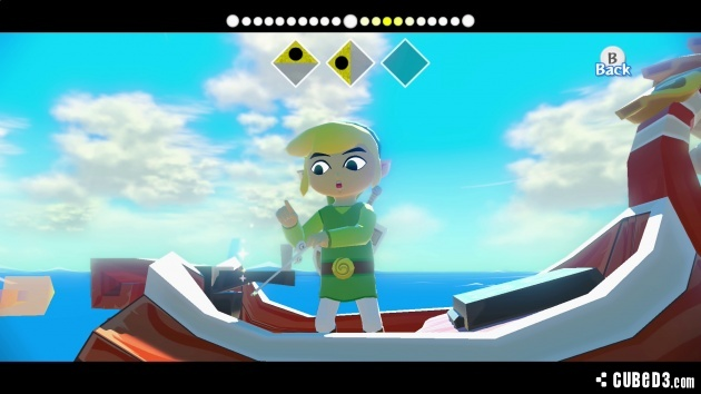 Screenshot for The Legend of Zelda: The Wind Waker HD on Wii U- on Nintendo Wii U, 3DS games review